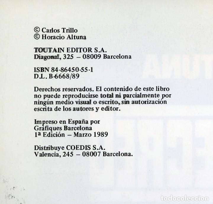 Cómics: TRILLO/ALTUNA. EL ULTIMO RECREO. TOUTAIN EDITOR 1989 - Foto 6 - 99167651
