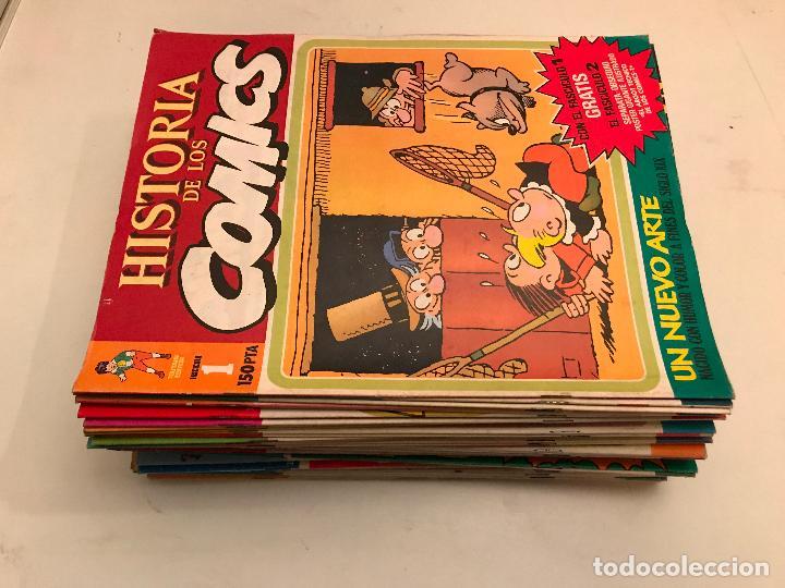 COLECCIÓN COMPLETA DE 48 NÚMEROS. HISTORIA DE LOS COMICS. TOUTAIN 1982. (Tebeos y Comics - Toutain - Otros)