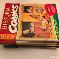 Cómics: COLECCIÓN COMPLETA DE 48 NÚMEROS. HISTORIA DE LOS COMICS. TOUTAIN 1982.. Lote 195739080