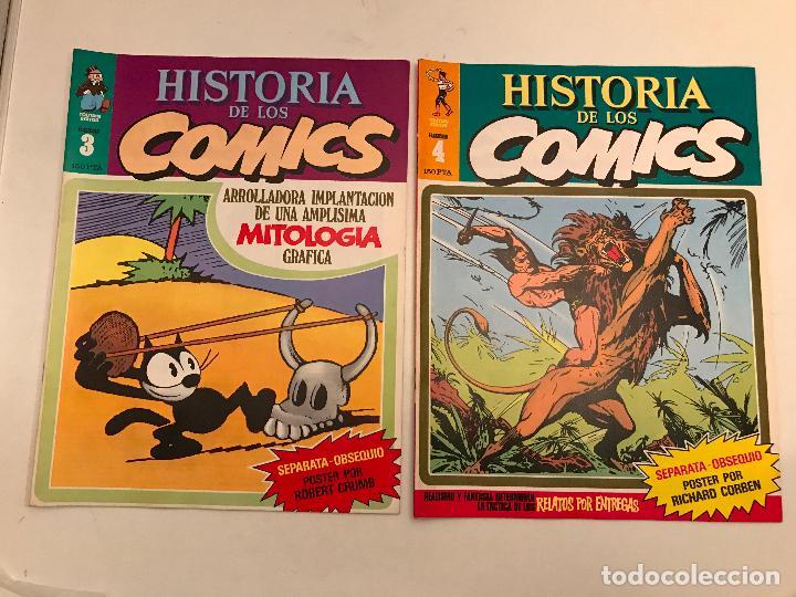 Cómics: COLECCIÓN COMPLETA DE 48 NÚMEROS. HISTORIA DE LOS COMICS. TOUTAIN 1982. - Foto 3 - 195739080