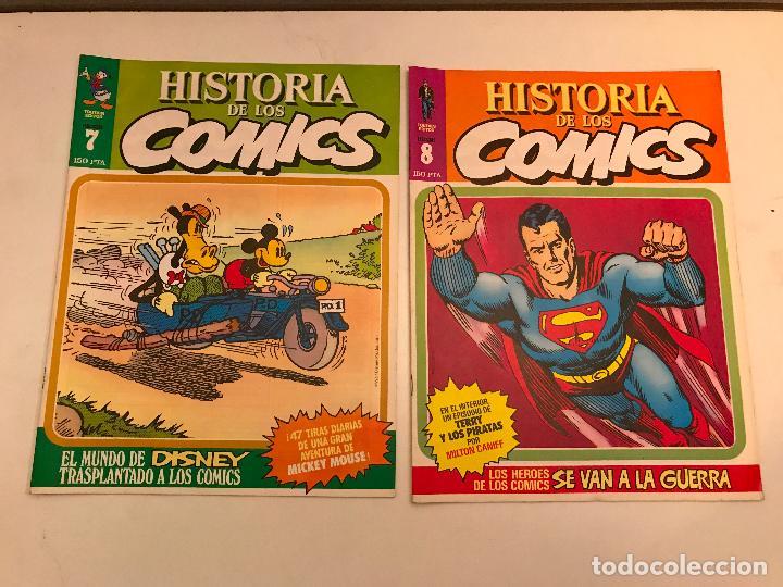 Cómics: COLECCIÓN COMPLETA DE 48 NÚMEROS. HISTORIA DE LOS COMICS. TOUTAIN 1982. - Foto 5 - 195739080
