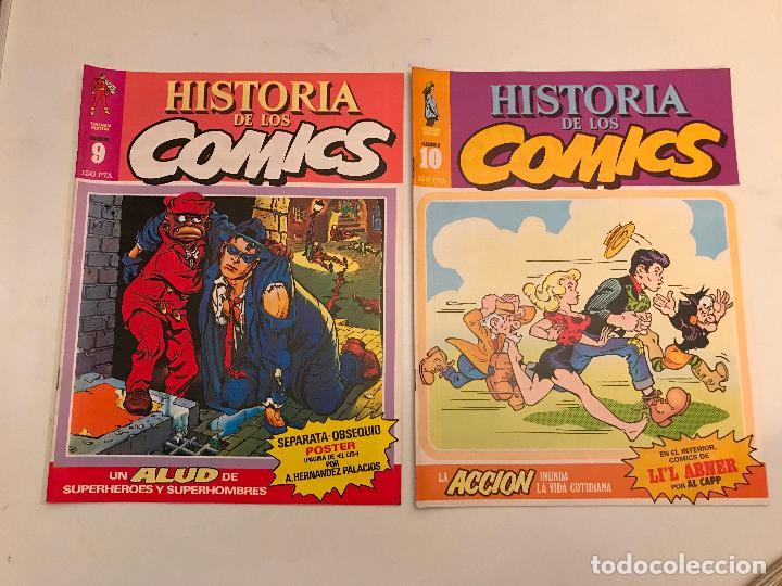 Cómics: COLECCIÓN COMPLETA DE 48 NÚMEROS. HISTORIA DE LOS COMICS. TOUTAIN 1982. - Foto 6 - 195739080