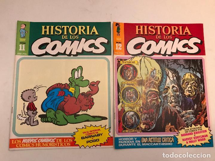 Cómics: COLECCIÓN COMPLETA DE 48 NÚMEROS. HISTORIA DE LOS COMICS. TOUTAIN 1982. - Foto 7 - 195739080