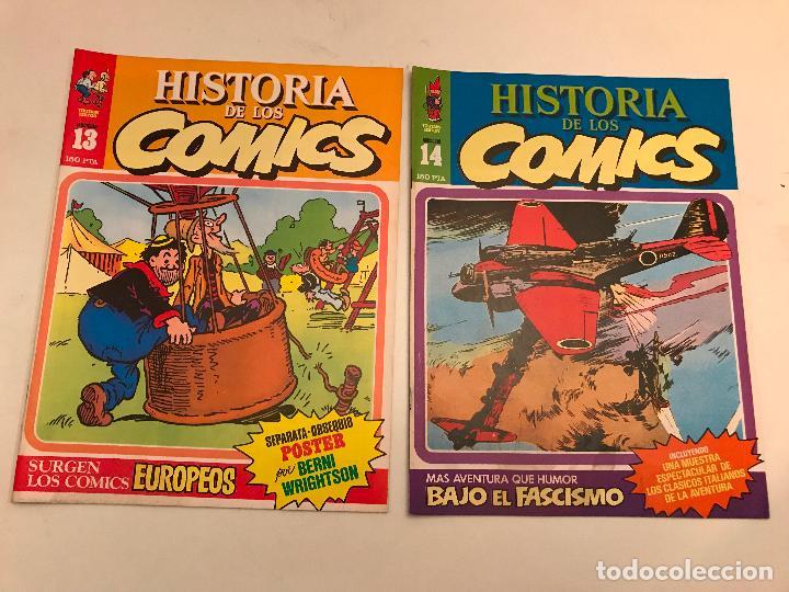 Cómics: COLECCIÓN COMPLETA DE 48 NÚMEROS. HISTORIA DE LOS COMICS. TOUTAIN 1982. - Foto 8 - 195739080
