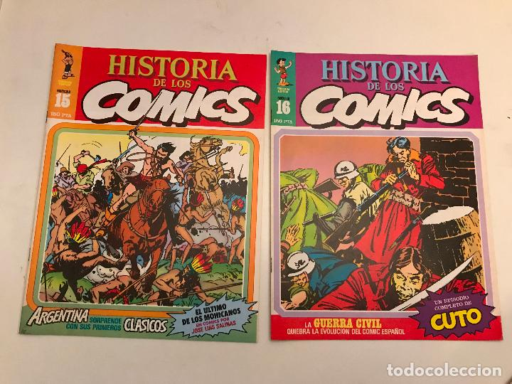 Cómics: COLECCIÓN COMPLETA DE 48 NÚMEROS. HISTORIA DE LOS COMICS. TOUTAIN 1982. - Foto 9 - 195739080