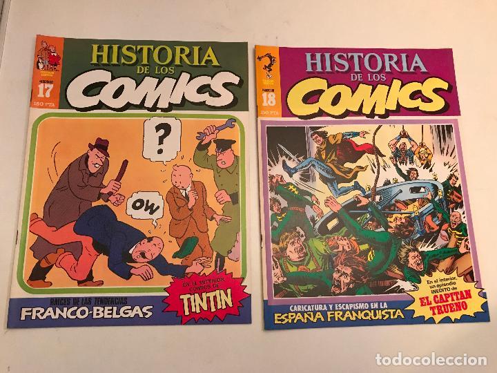 Cómics: COLECCIÓN COMPLETA DE 48 NÚMEROS. HISTORIA DE LOS COMICS. TOUTAIN 1982. - Foto 10 - 195739080