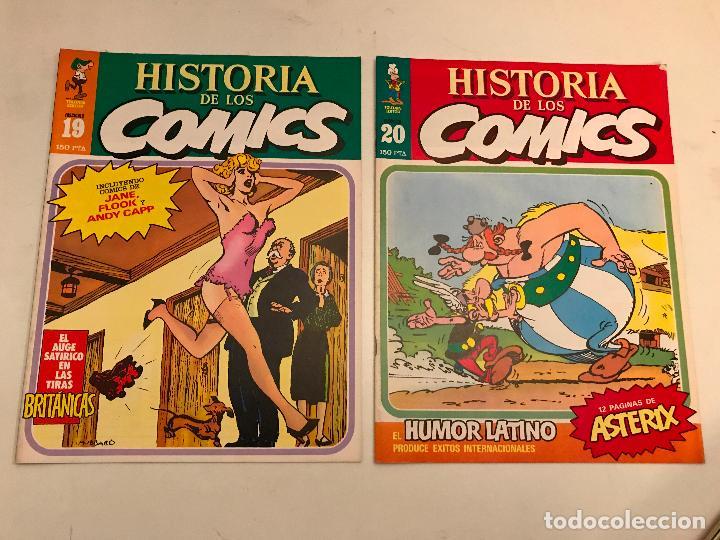 Cómics: COLECCIÓN COMPLETA DE 48 NÚMEROS. HISTORIA DE LOS COMICS. TOUTAIN 1982. - Foto 11 - 195739080