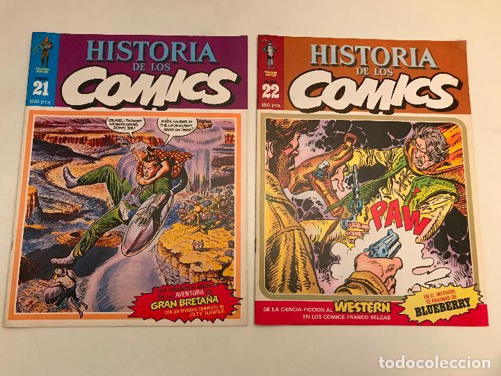 Cómics: COLECCIÓN COMPLETA DE 48 NÚMEROS. HISTORIA DE LOS COMICS. TOUTAIN 1982. - Foto 12 - 195739080