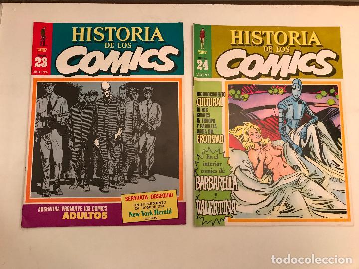 Cómics: COLECCIÓN COMPLETA DE 48 NÚMEROS. HISTORIA DE LOS COMICS. TOUTAIN 1982. - Foto 13 - 195739080