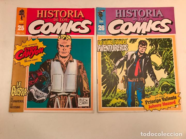 Cómics: COLECCIÓN COMPLETA DE 48 NÚMEROS. HISTORIA DE LOS COMICS. TOUTAIN 1982. - Foto 14 - 195739080