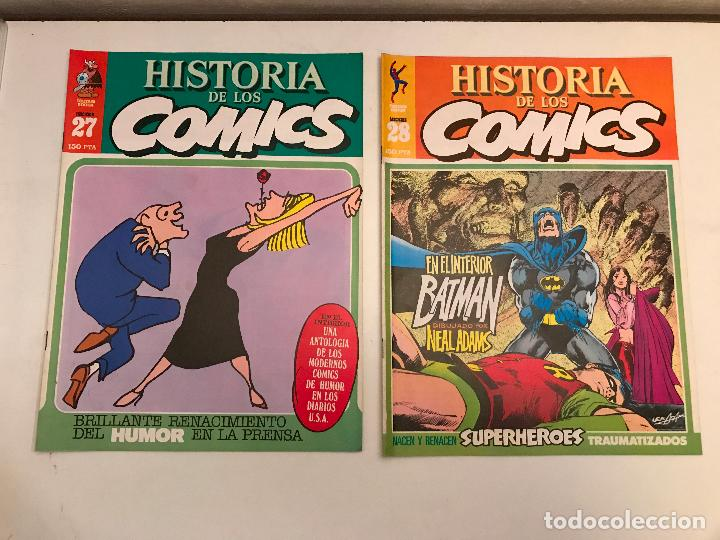 Cómics: COLECCIÓN COMPLETA DE 48 NÚMEROS. HISTORIA DE LOS COMICS. TOUTAIN 1982. - Foto 15 - 195739080