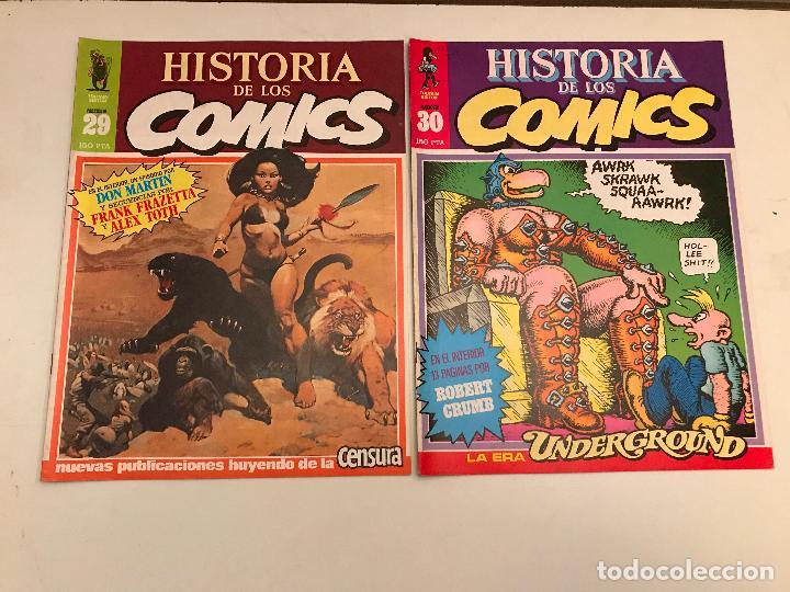 Cómics: COLECCIÓN COMPLETA DE 48 NÚMEROS. HISTORIA DE LOS COMICS. TOUTAIN 1982. - Foto 16 - 195739080
