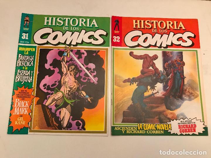 Cómics: COLECCIÓN COMPLETA DE 48 NÚMEROS. HISTORIA DE LOS COMICS. TOUTAIN 1982. - Foto 17 - 195739080