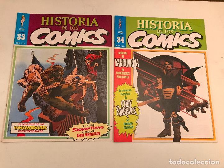 Cómics: COLECCIÓN COMPLETA DE 48 NÚMEROS. HISTORIA DE LOS COMICS. TOUTAIN 1982. - Foto 18 - 195739080
