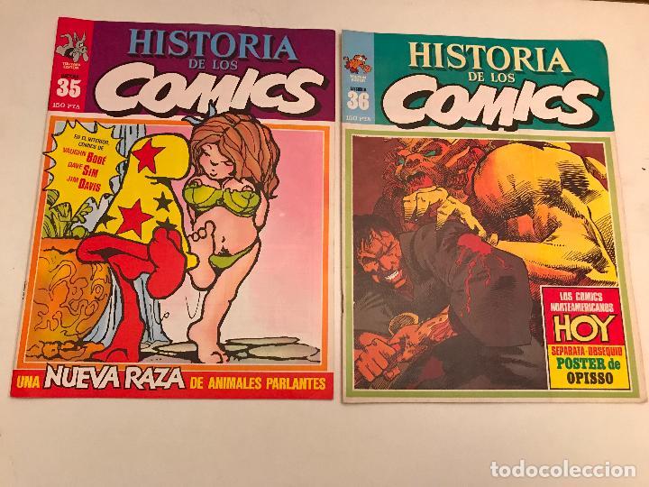 Cómics: COLECCIÓN COMPLETA DE 48 NÚMEROS. HISTORIA DE LOS COMICS. TOUTAIN 1982. - Foto 19 - 195739080