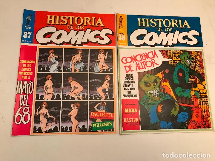 Cómics: COLECCIÓN COMPLETA DE 48 NÚMEROS. HISTORIA DE LOS COMICS. TOUTAIN 1982. - Foto 20 - 195739080