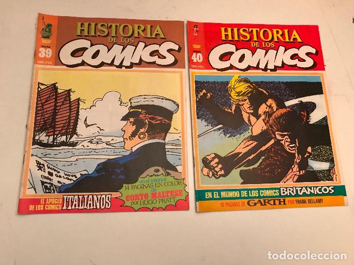 Cómics: COLECCIÓN COMPLETA DE 48 NÚMEROS. HISTORIA DE LOS COMICS. TOUTAIN 1982. - Foto 21 - 195739080