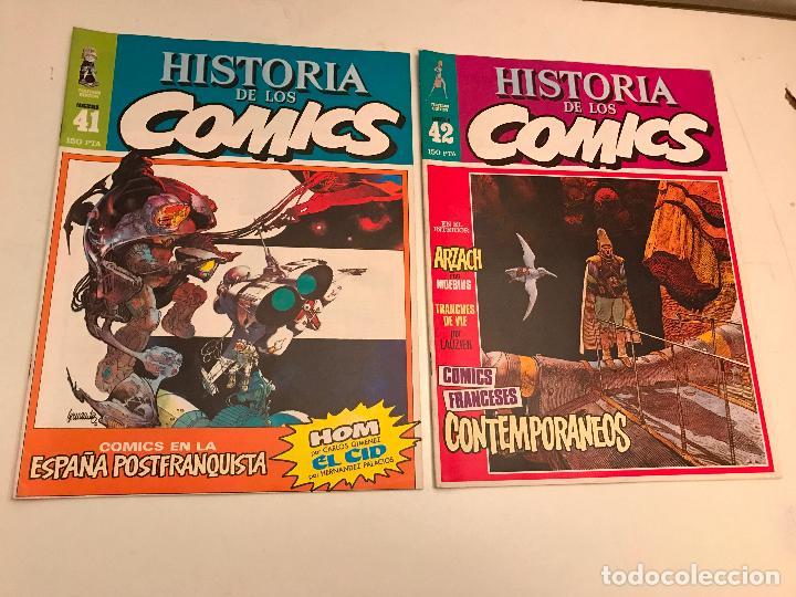 Cómics: COLECCIÓN COMPLETA DE 48 NÚMEROS. HISTORIA DE LOS COMICS. TOUTAIN 1982. - Foto 22 - 195739080