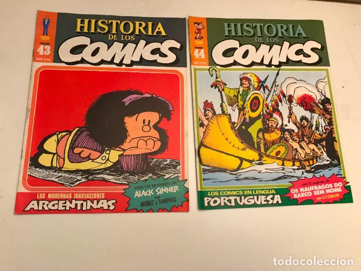 Cómics: COLECCIÓN COMPLETA DE 48 NÚMEROS. HISTORIA DE LOS COMICS. TOUTAIN 1982. - Foto 23 - 195739080