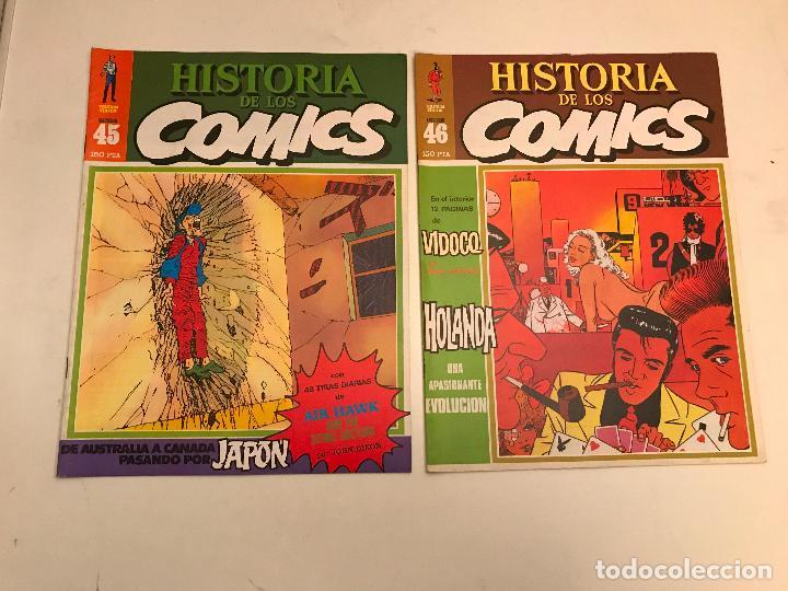 Cómics: COLECCIÓN COMPLETA DE 48 NÚMEROS. HISTORIA DE LOS COMICS. TOUTAIN 1982. - Foto 24 - 195739080