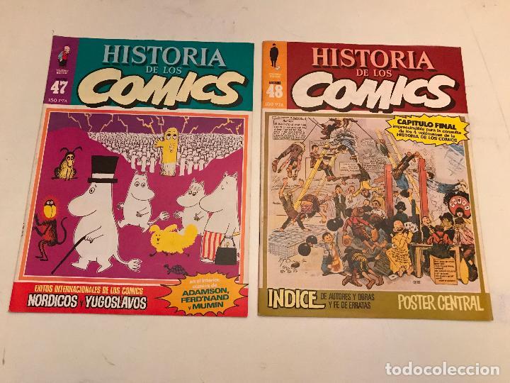 Cómics: COLECCIÓN COMPLETA DE 48 NÚMEROS. HISTORIA DE LOS COMICS. TOUTAIN 1982. - Foto 25 - 195739080