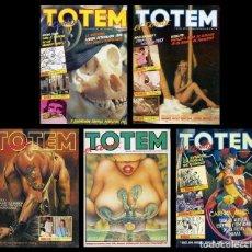 Cómics: 5 TOTEM. EL COMIC. NUEVA ÉPOCA. LOS 5 PRIMEROS NÚMEROS. TOUTAIN EDITOR. Lote 99518307