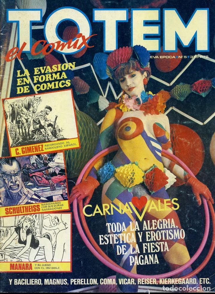 Cómics: 5 TOTEM. EL COMIC. NUEVA ÉPOCA. LOS 5 PRIMEROS NÚMEROS. TOUTAIN EDITOR - Foto 6 - 99518307