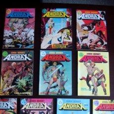 Fumetti: ANDRAX Nº 1 AL 12 (FALTAN 2) 1, 2, 3, 4, 5, 6, 7, 9, 10, 12 (JORDI BERNET) CASI COMPLETA. Lote 99530431
