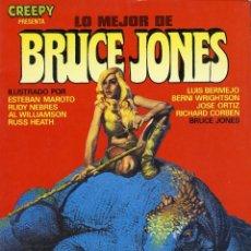 Cómics: CREEPY PRESENTA LO MEJOR DE BRUCE JONES. TOUTAIN EDITOR. Lote 99547603