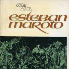 Cómics: ESTEBAN MAROTO. CUANDO EL COMIC ES ARTE. TOUTAIN 1978. EN ESPAÑOL E INGLÉS. Lote 99552519