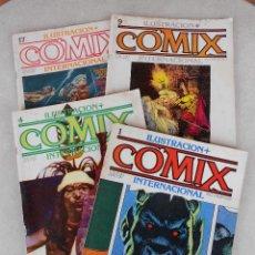 Cómics: LOTE 4 COMIX INTERNACIONAL (NUMS. 1, 4, 9, 17). Lote 99640287