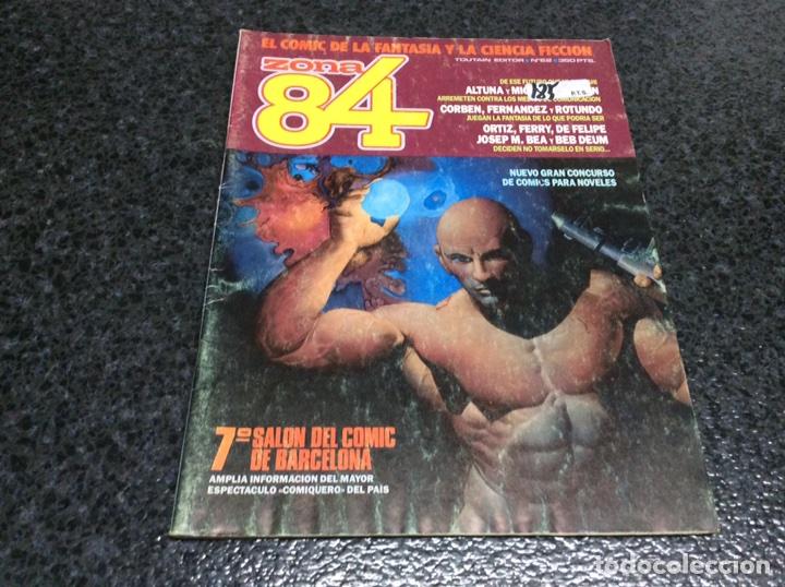ZONA 84 Nº 62 - EDITA : TOUTAIN (Tebeos y Comics - Toutain - Zona 84)