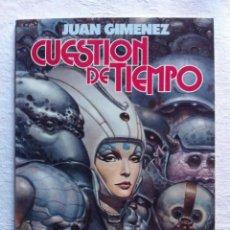 Cómics: CUESTION DE TIEMPO - JUAN GIMENEZ - TOUTAIN EDITOR. Lote 99877743
