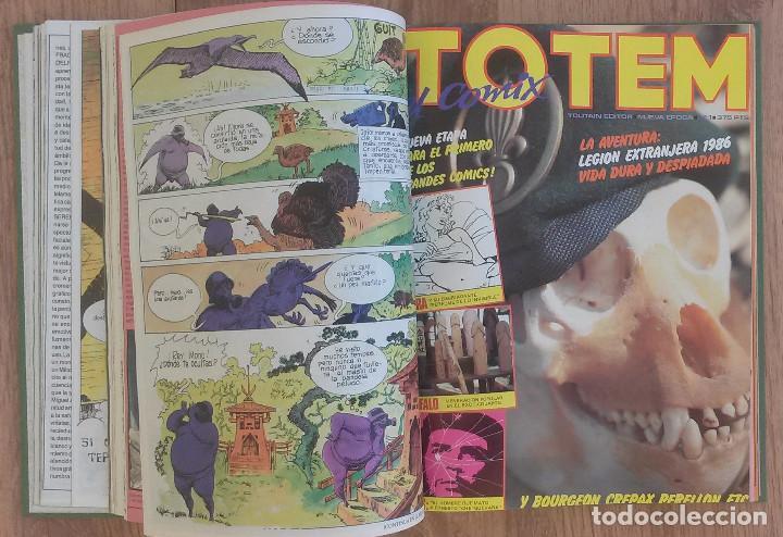 Cómics: TOTEM lote 4 Primeros numeros + TOTEM Magazine (Dos ultimos numeros) - Foto 3 - 100319835