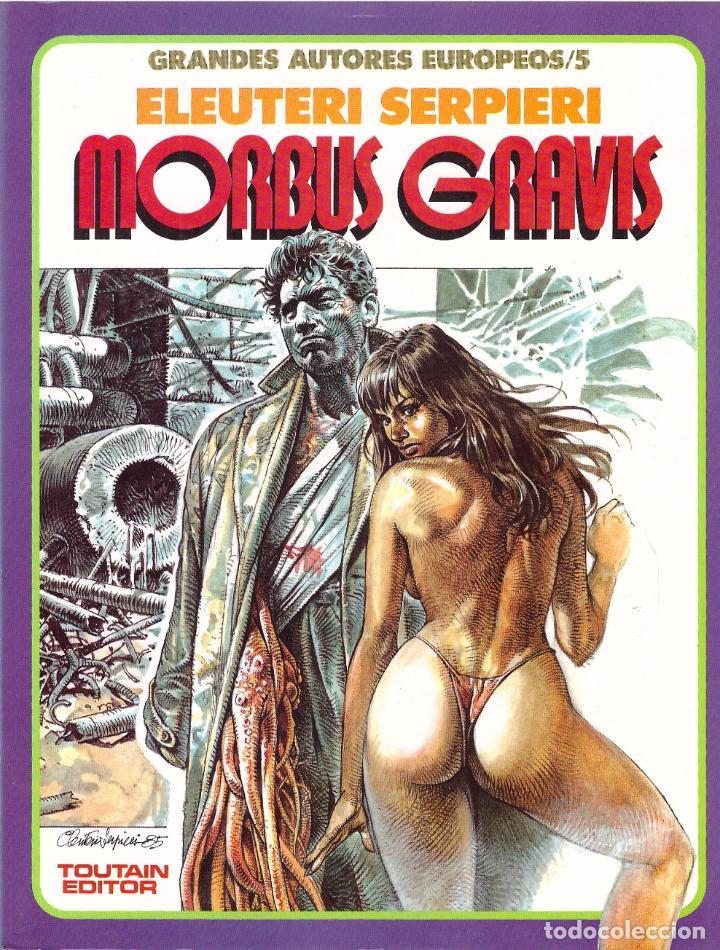 COMIC DRUUNA: MORBUS GRAVIS - ELEUTERI SERPIERI; TOUTAIN (Tebeos y Comics - Toutain - Otros)