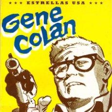 Cómics: COMIC ESTRELLAS USA: GENE COLAN - TOUTAIN EDITOR. Lote 100371187