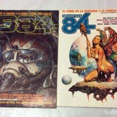 Cómics: 1984 Nº 60 Y ZONA 84 NUMERO 26 TOUTAIN EDITOR COMIC FANTASTICO EXITO BERNET ABULI BEROY GENIES . Lote 100751319