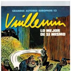 Cómics: VUILLEMIN -LO MEJOR DE SI MISMO.. Lote 181777847