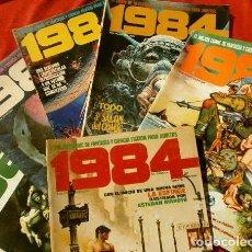 Cómics: 1984 - LOTE 6 COMICS Nº 3, 5, 7, 8, 17, 53 - EDICIONES TOUTAIN (AÑOS 80) COMICS FANTASIA Y CIENCIA. Lote 101521359