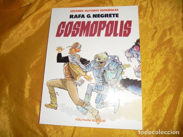 COSMOPOLIS. RAFA G. NEGRETE. TOUTAIN EDITOR. JOVENES AUTORES ESPAÑOLES Nº 3 (Tebeos y Comics - Toutain - Otros)