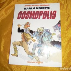 Cómics: COSMOPOLIS. RAFA G. NEGRETE. TOUTAIN EDITOR. JOVENES AUTORES ESPAÑOLES Nº 3. Lote 101562155