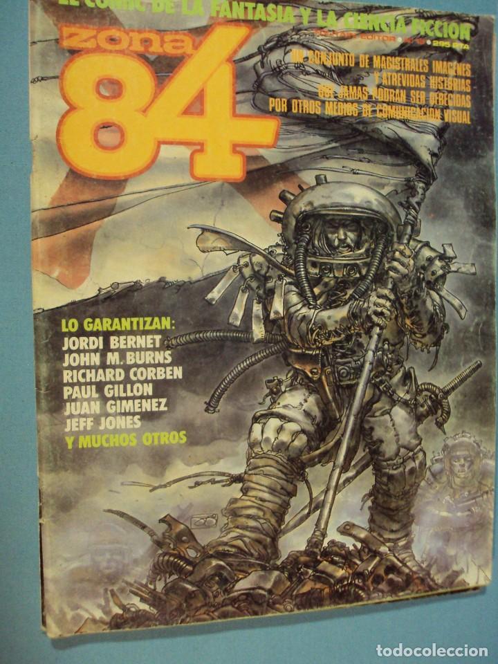 COMICS ZONA 84 EL CÓMIC DE LA FANTASÍA Y LA CIENCIA FICCIÓN, 1986, 82 PAG. (Tebeos y Comics - Toutain - Zona 84)