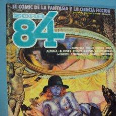 Cómics: COMICS ZONA 84 EL CÓMIC DE LA FANTASÍA Y LA CIENCIA FICCIÓN, Nº 20, 1985, 82 PAG.. Lote 101718407