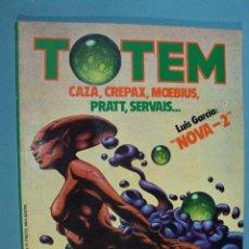 Cómics: TOTEM ,COMIC TOTEM Nº 35, CAZA, CREPAX, MOPEBIUS. PRATT, SERVAIS..., 90 PAG.. Lote 101790027