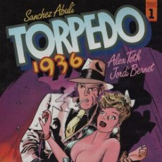 Cómics: TORPEDO 1936 TOMO Nº 1 - SANCHEZ ABULI / ALEX TOTH / JORDI BERNET - TOUTAIN. Lote 101982683