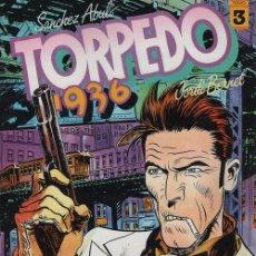 Cómics: TORPEDO 1936 TOMO Nº 3 - SANCHEZ ABULI / JORDI BERNET - TOUTAIN. Lote 101982767