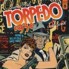 Cómics: TORPEDO 1936 TOMO Nº 5 - SANCHEZ ABULI / JORDI BERNET - TOUTAIN. Lote 101982819
