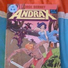 Cómics: ANDRAX. TOMO 1 AL 6. JORDI BERNET. TOUTAIN. Lote 102082067