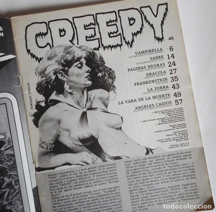 Cómics: Creepy 46, con Gulacy, Neal Adams y, sobre todo, una Vampirella de Pepe Gonzalez. - Foto 2 - 102141019