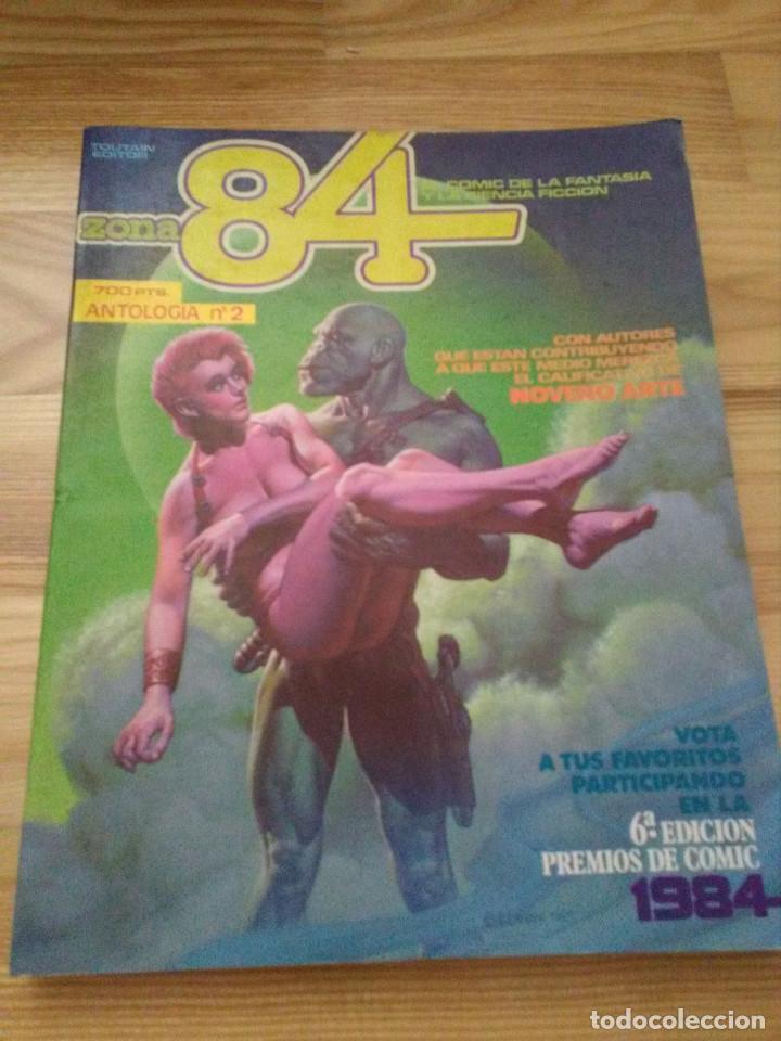 RETAPADO ANTOLOGIA 2 ZONA 84 EDITORIAL TOUTAIN CONTIENE LOS NUMEROS 5 6 7 (Tebeos y Comics - Toutain - Zona 84)